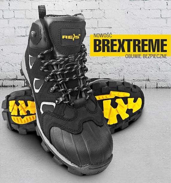 584f791b94aa1e BREXTREME S3 SRC - nubukowe buty robocze typu trzewik, wzmocnie na czubku,  odblaski z