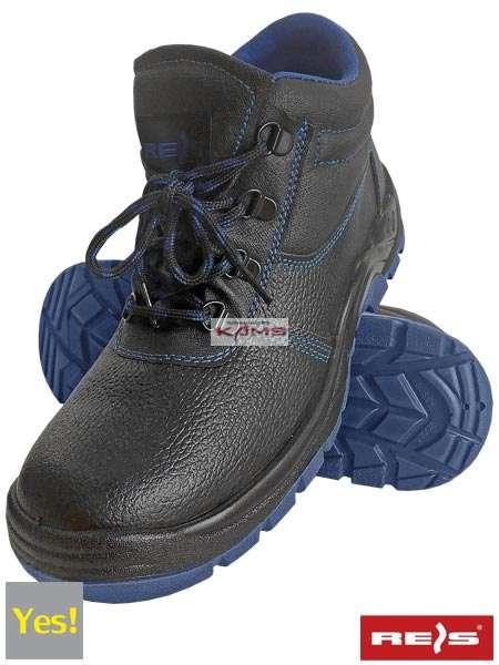 12edd2a6c46f5 BRYESK-T-SB - skórzane buty robocze typu trzewik, stalowy podnosek, podeszwa