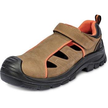 ed121f680df8f DERRIL MR S1P SRC - sandały z niemetalowym podnoskiem i kevlarową, odporną  na przebicie wkładką