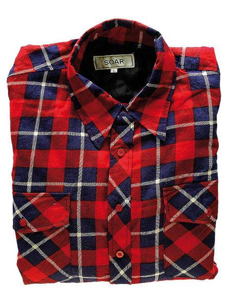 Koszule męskie flanelowe, bawełniane i ocieplane