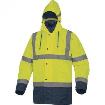 103127374e9a88 RUNWAY - ostrzegawcza kurtka przeciwdeszczowa 3w1- 2 kolory - S-3XL.