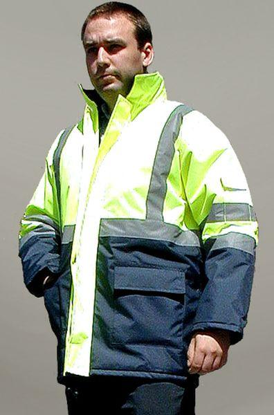 0639005ab59d6d URAN - kurtka ocieplana ostrzegawcza 2 kolory - S-3XL. :: Sklep BHP ...