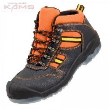 74c02606c5e3a 100 KLIMA S1 TPU URGENT - skórzane buty robocze typu trzewik z metalowym  podnoskiem- 39